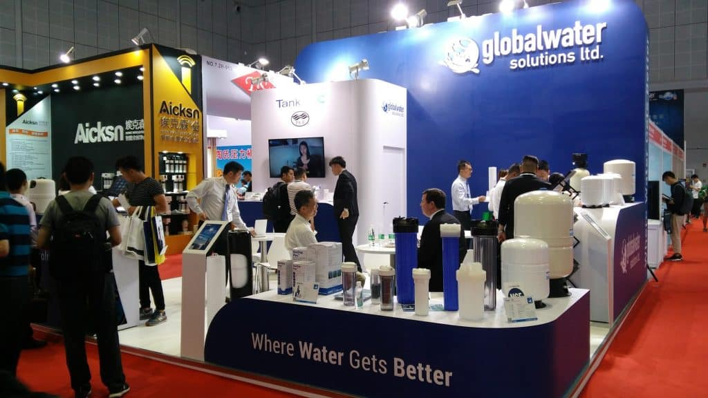 GWS at Aquatech China GWS Aquatech China 1