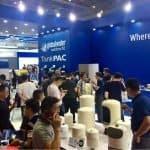 Busy first day at Aquatech China 2018 GWS at Aquatech China 4